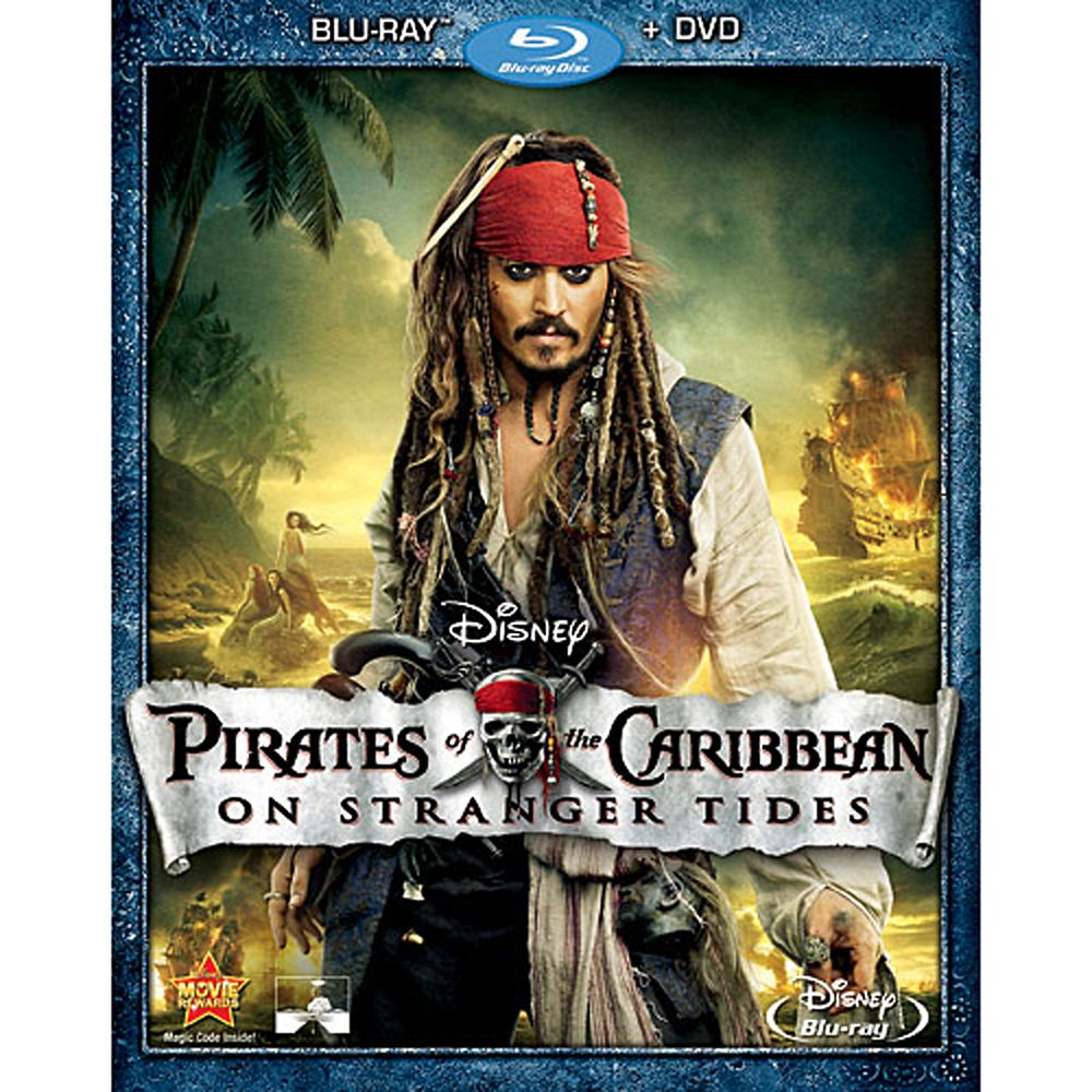 Pirates of the Caribbean: On Stranger Tides – Blu-ray + DVD Combo Pack