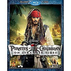 Pirates of the Caribbean: On Stranger Tides - Blu-ray + DVD Combo Pack 7745055550414P