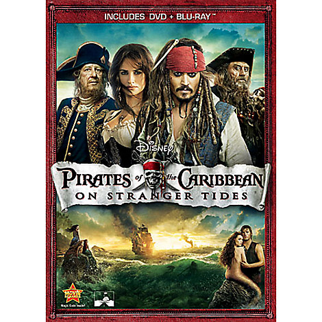 Pirates of the Caribbean: On Stranger Tides - DVD + Blu-Ray Combo Pack