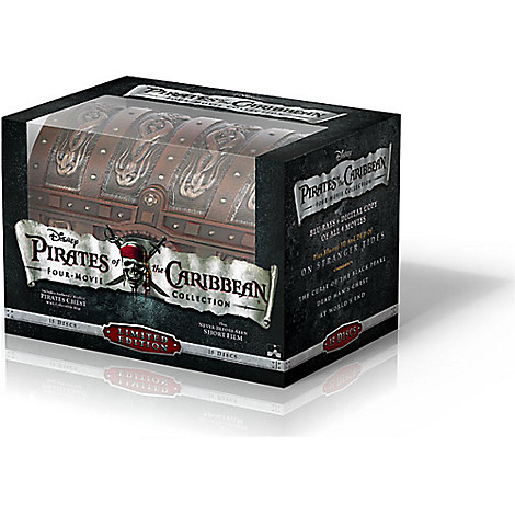 Pirates of the Caribbean DVD Collection