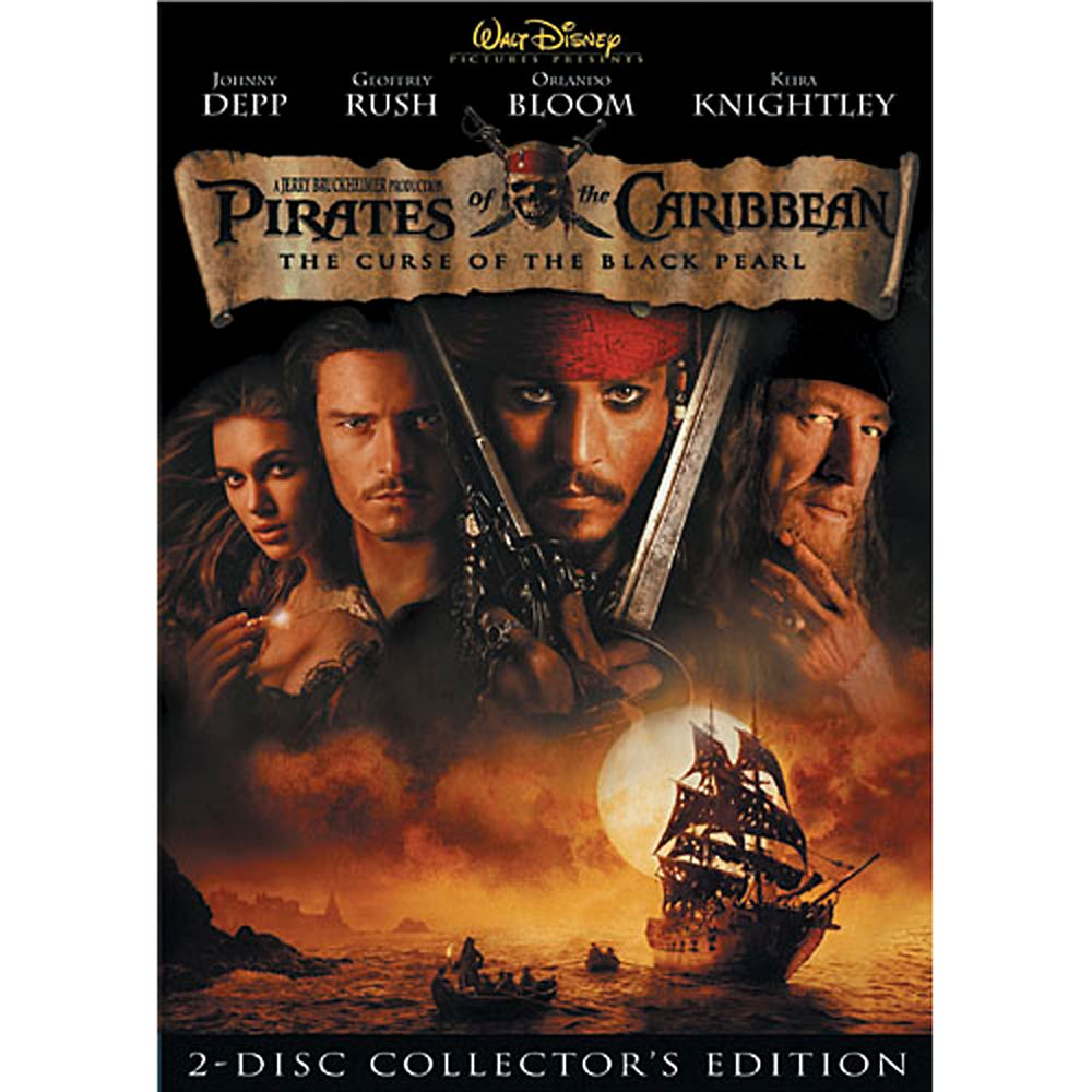Pirates of the Caribbean: The Curse of the Black Pearl DVD
