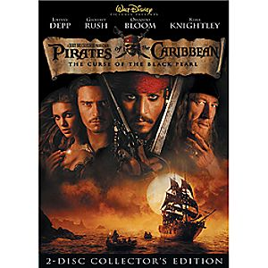 Pirates of the Caribbean: The Curse of the Black Pearl DVD 7745055550419P