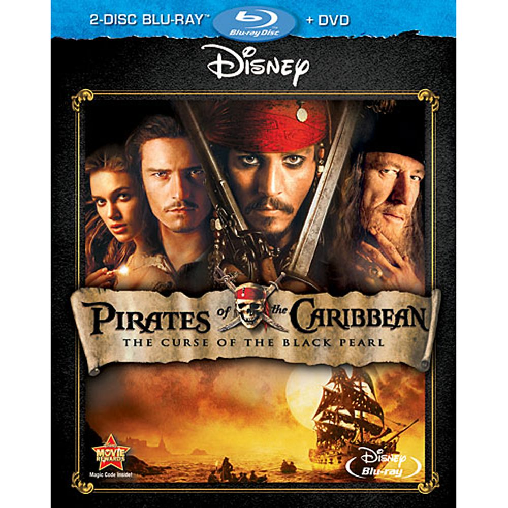 Pirates of the Caribbean: The Curse of the Black Pearl – 2-Disc Combo Pack