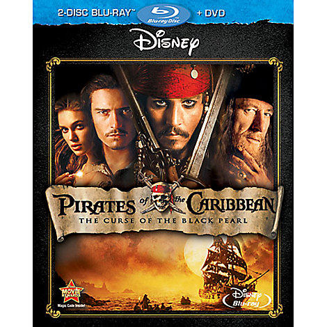 Pirates of the Caribbean: The Curse of the Black Pearl - 2-Disc Combo Pack