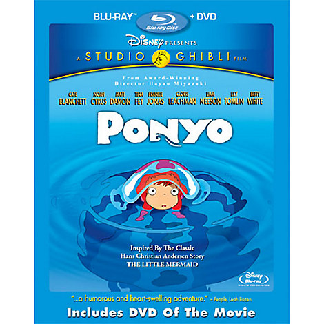 Ponyo - 2-Disc Combo Pack
