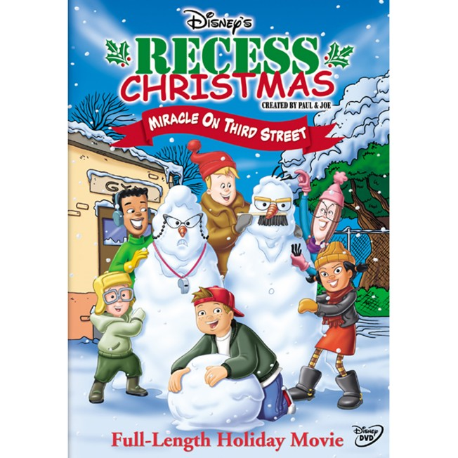 Recess Christmas: Miracle on Third Street DVD