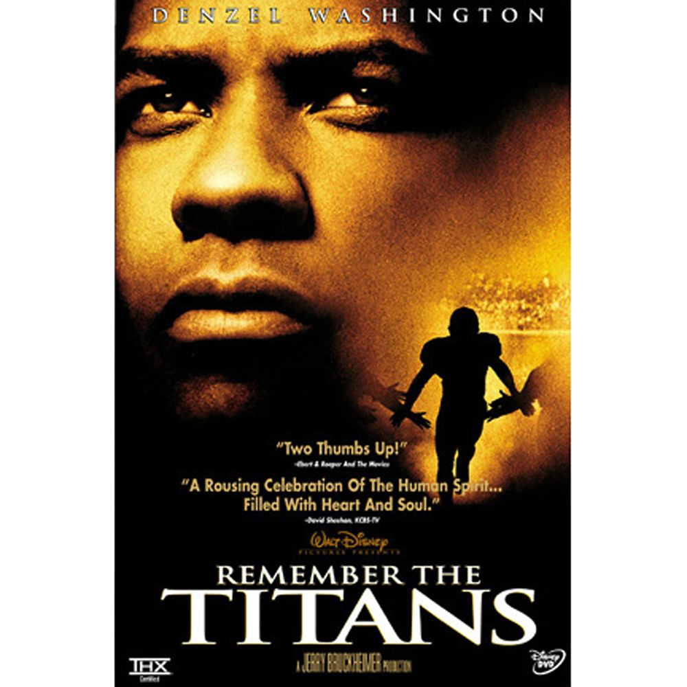 Remember the Titans DVD – Widescreen