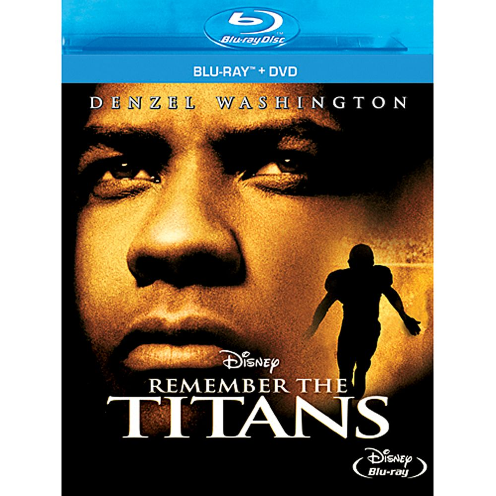 Remember the Titans  2-Disc Blu-ray and DVD Combo Pack Official shopDisney