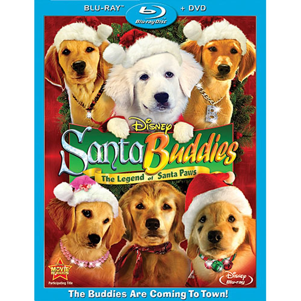 Santa Buddies: The Legend of Santa Paws – 2-Disc Combo Pack