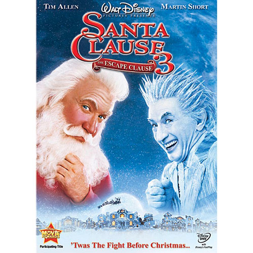 The Santa Clause 3: The Escape Clause DVD Official shopDisney