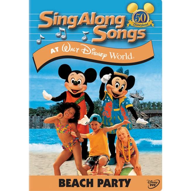Sing Along Songs: Beach Party at Walt Disney World DVD
