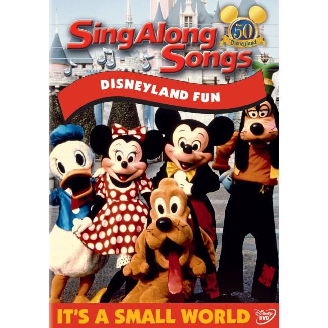 Sing Along Songs: Disneyland Fun DVD