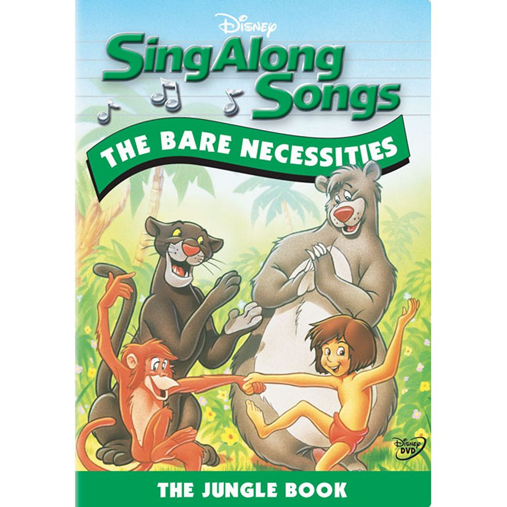 Sing Along Songs: The Bare Necessities DVD Official shopDisney