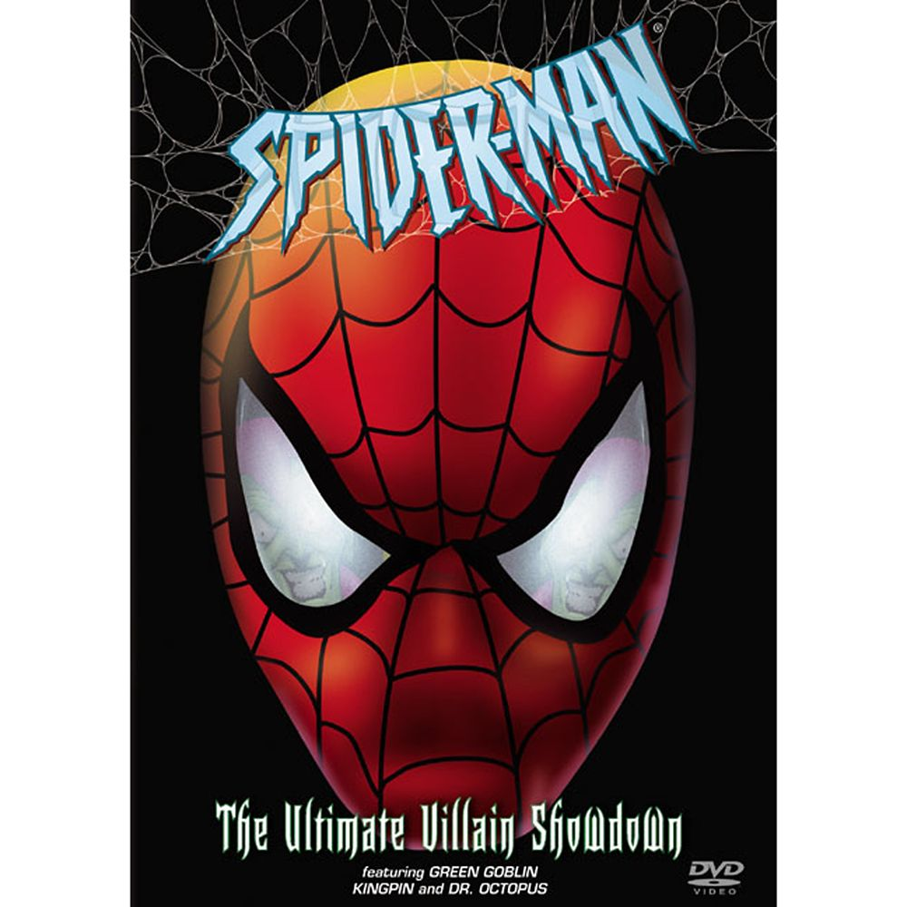 Spider-Man: The Ultimate Villain Showdown DVD Official shopDisney