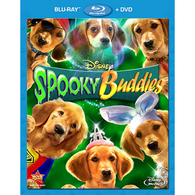 Spooky Buddies 2-Disc Combo Pack