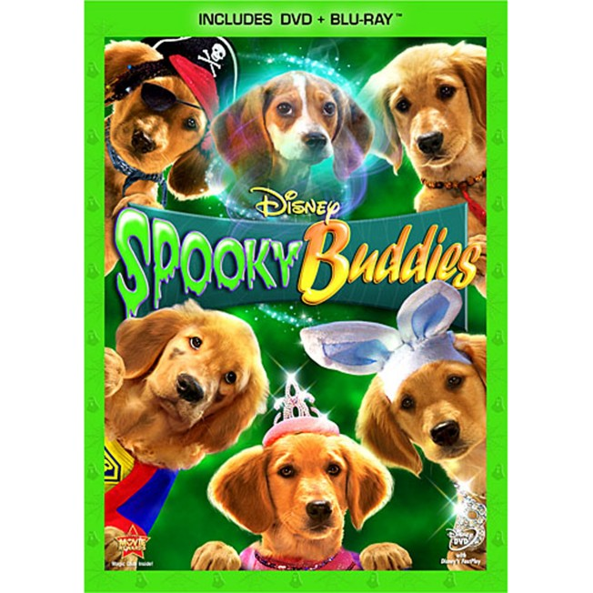 Spooky Buddies – 2-Disc Combo Pack
