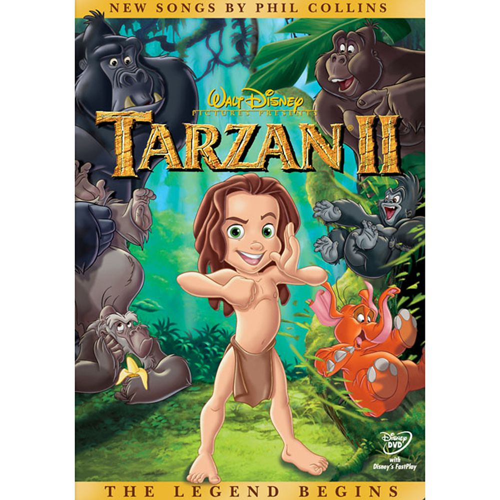 Tarzan 2 DVD Official shopDisney