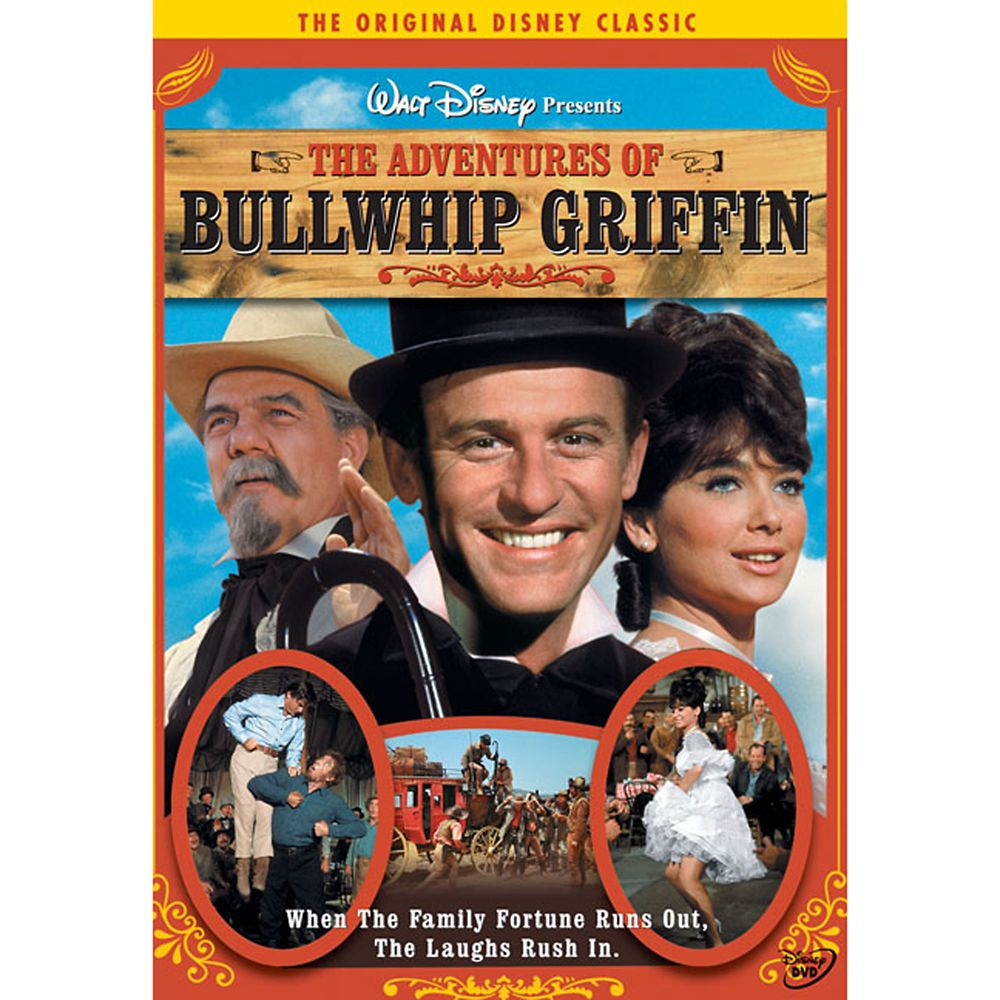 The Adventures of Bullwhip Griffin DVD Official shopDisney