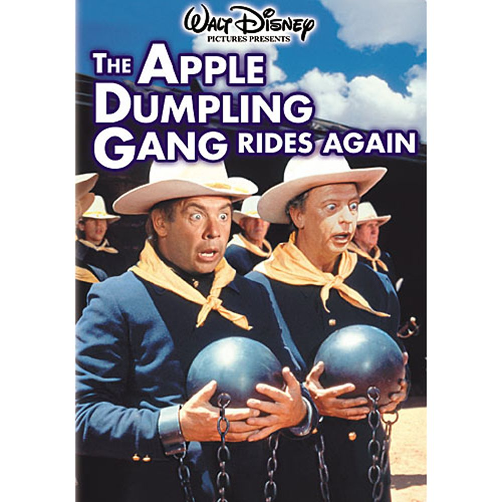The Apple Dumpling Gang Rides Again DVD