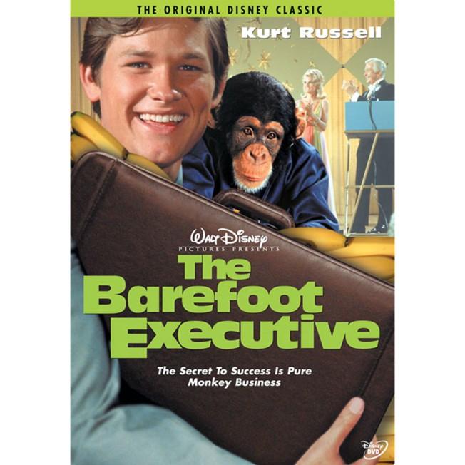 The Barefoot Executive DVD