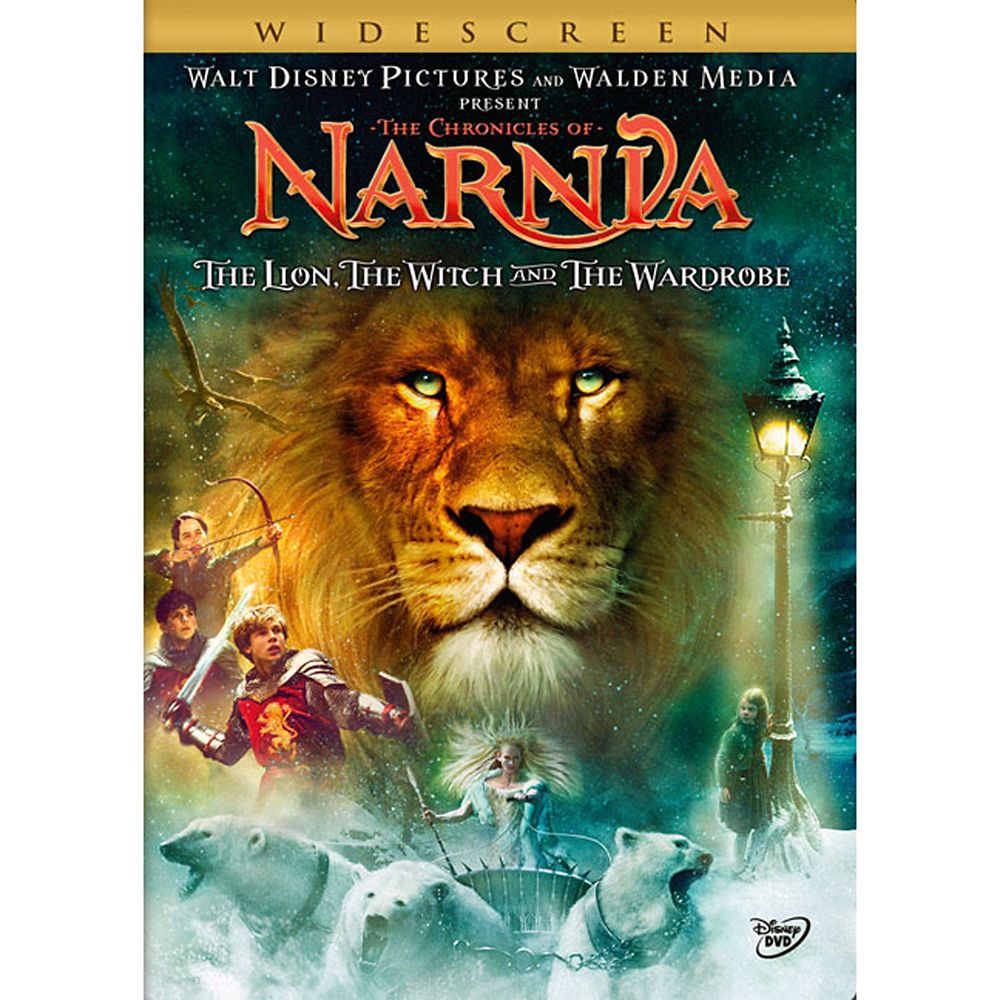 The Chronicles of Narnia: The Lion, the Witch and the Wardrobe DVD – Widescreen