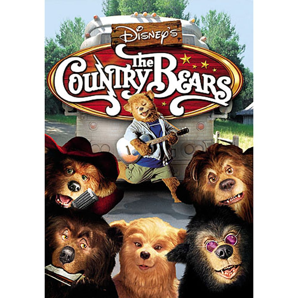 The Country Bears DVD – Fullscreen