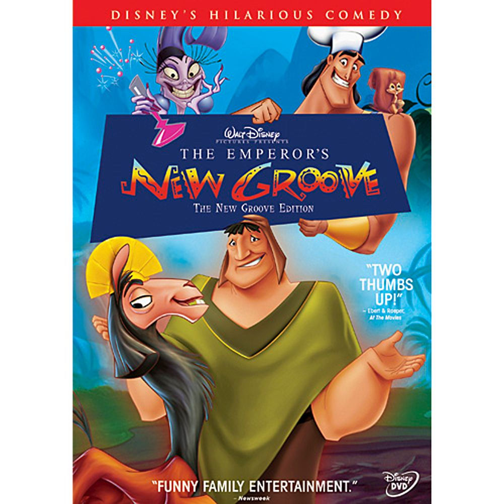 The Emperor's New Groove DVD Official shopDisney