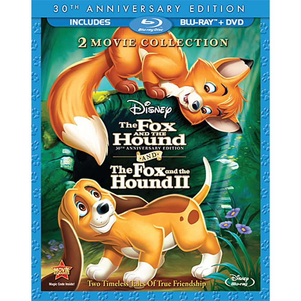 The Fox and the Hound/The Fox and the Hound II  3-Disc Blu-ray and DVD Set Official shopDisney