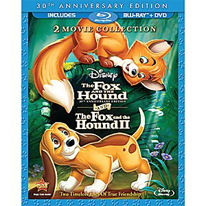 The Fox and the Hound/The Fox and the Hound II - 3-Disc Blu-ray and DVD Set 7745055550563P