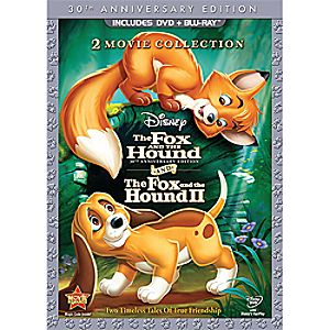 The Fox and the Hound/The Fox and the Hound II - 3-Disc DVD and Blu-ray Set 7745055550564P