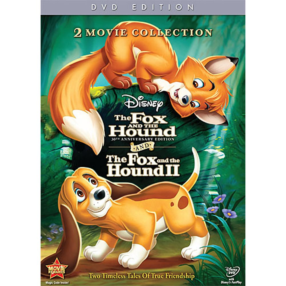 The Fox and the Hound/The Fox and the Hound 2 Collection DVD Official shopDisney