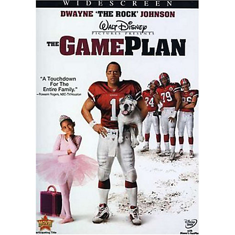 The Game Plan DVD - Widescreen