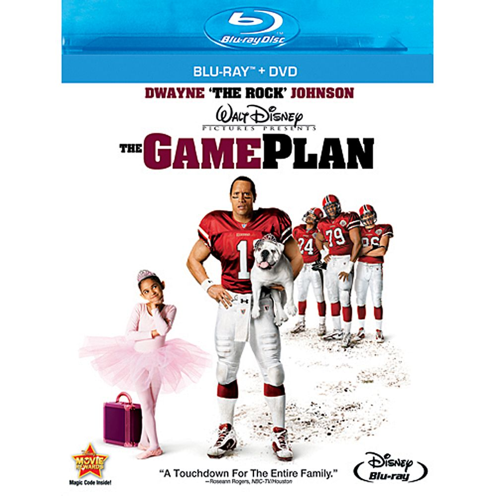 The Game Plan  Blu-Ray + DVD Combo Pack Official shopDisney
