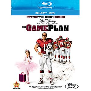 The Game Plan - Blu-Ray + DVD Combo Pack 7745055550568P