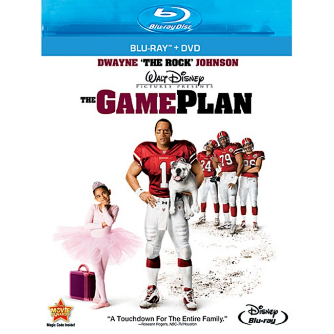 The Game Plan – Blu-Ray + DVD Combo Pack