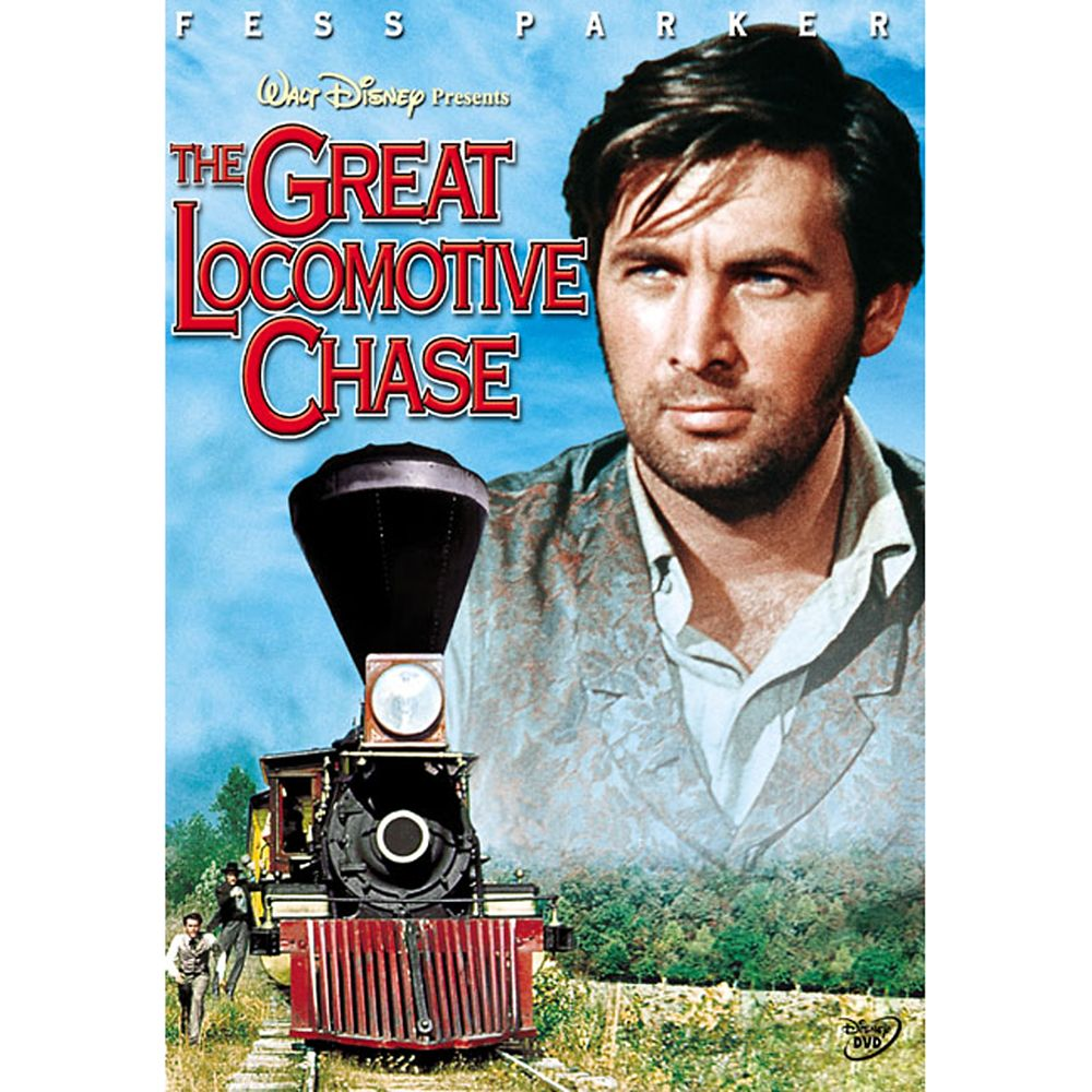 The Great Locomotive Chase DVD Official shopDisney