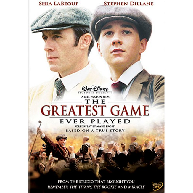 The Greatest Game Ever Played DVD – Widescreen