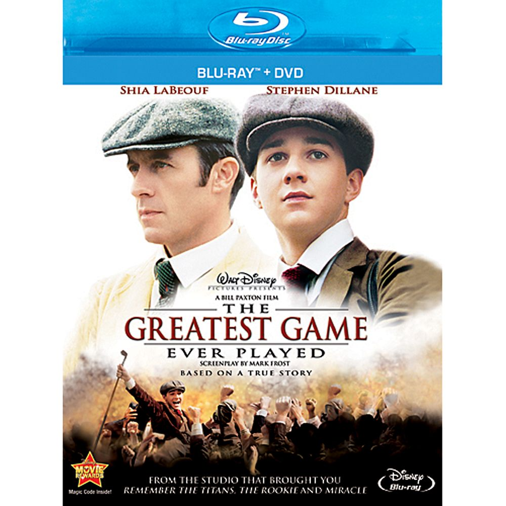 The Greatest Game Ever Played – 2-Disc Combo Pack