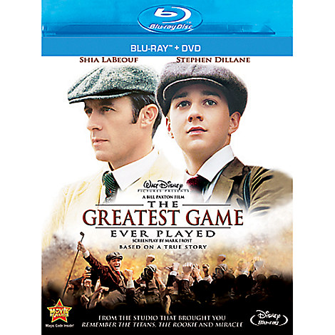 The Greatest Game Ever Played - 2-Disc Combo Pack