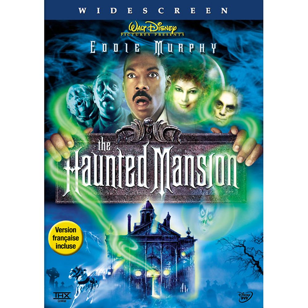 The Haunted Mansion DVD – Widescreen