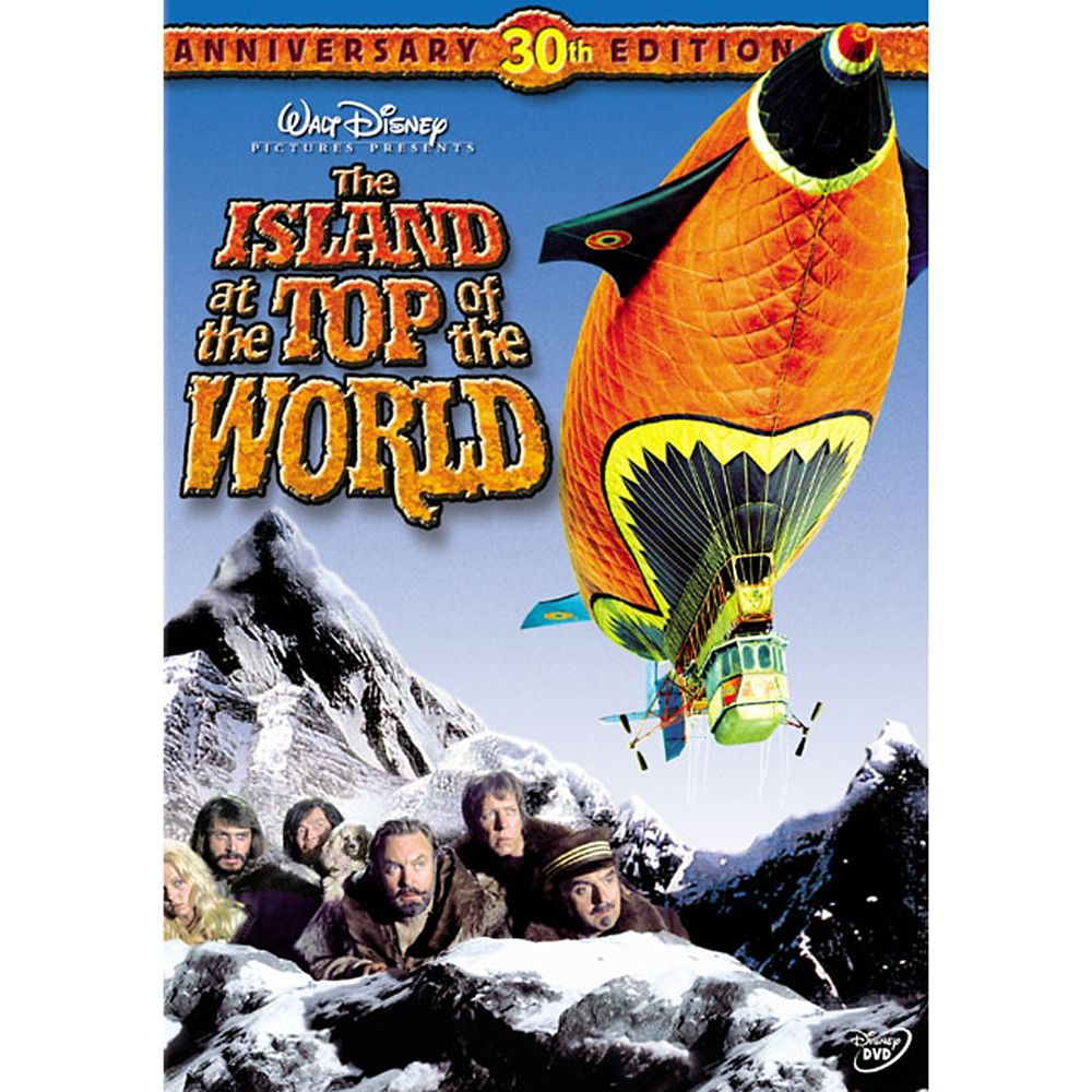 The Island at the Top of the World DVD
