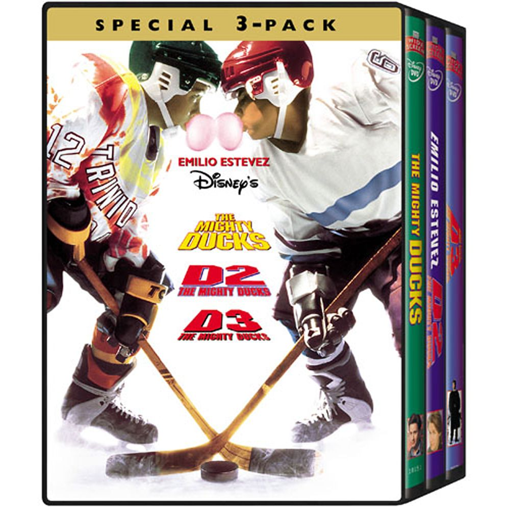 The Mighty Ducks 3-Pack DVD