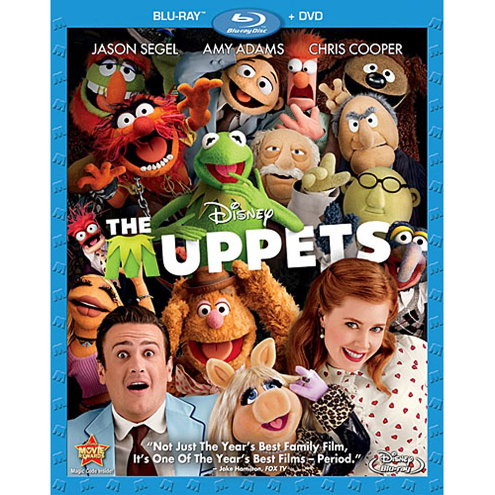 The Muppets – Blu-ray and DVD Combo Pack