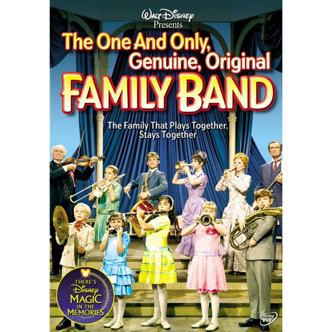 The One and Only, Genuine, Original Family Band DVD