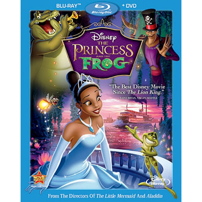 The Princess and the Frog – 2-Disc Combo Pack