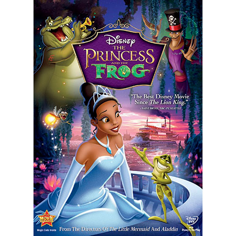The Princess and the Frog DVD Official shopDisney