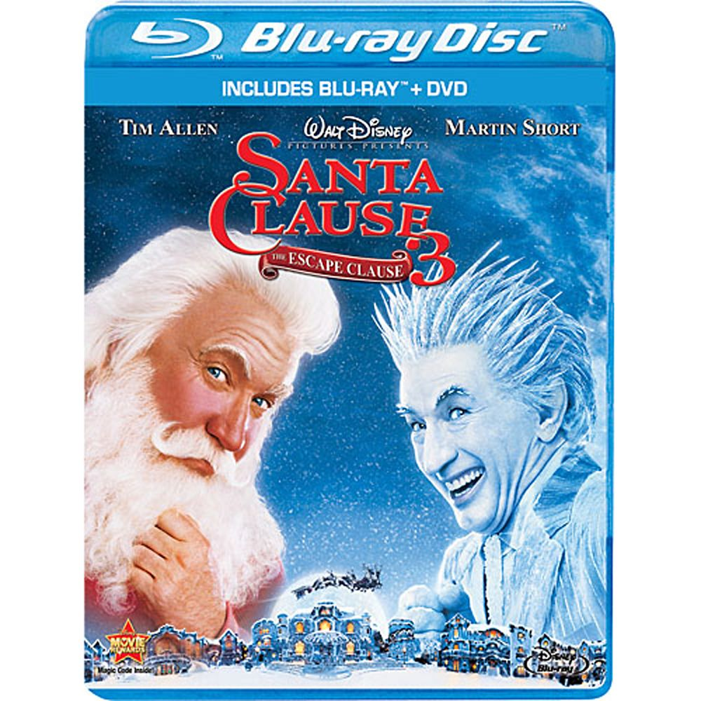 The Santa Clause 3: The Escape Clause  Blu-ray + DVD Combo Pack Official shopDisney