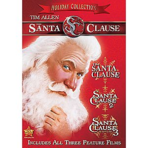 The Santa Clause Holiday Collection DVD 7745055550644P