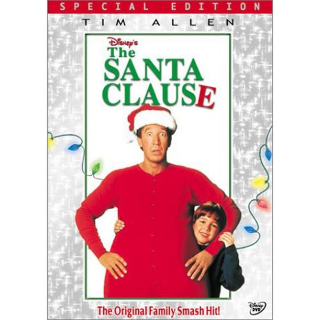 The Santa Clause DVD – Widescreen