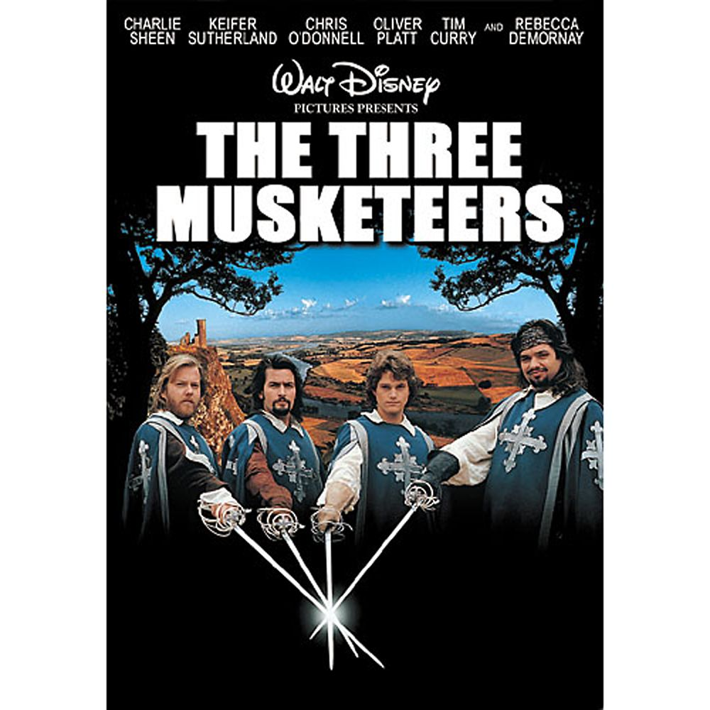 The Three Musketeers DVD Official shopDisney